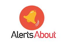 AlertsAbout.com - Premium domain name for sale - NEWS/ALERTS/UPDATES domain name