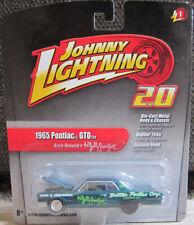 """1:64 Johnny Lightning Arnie Beswick """"Jolly Green Giant"""" '65 Pontiac GTO"""