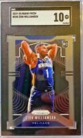 2019-20 Panini Prizm Zion Williamson ROOKIE RC #248 SGC 10 GEM MINT