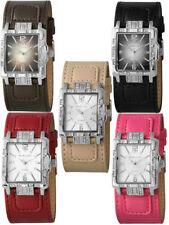Relojes de pulsera de cuero sintético cronógrafo