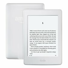 "Kindle e-reader 6"" reflets sans écran tactile wi-fi blanc 8th gen latest 2016 nouveau!"