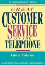 Great Customer Service on the Telephone (Worksmart Series) by Anderson, Kristin,