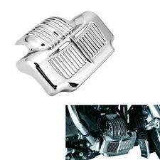 Stock Oil Cooler Cover for Harley Touring Electra Street Glide Road Kings Chrome