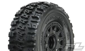 """Pro-Line Trencher X SC 2.2""""/3.0"""" All Terrain Tires Mounted (2) Slash 2wd/4wd"""