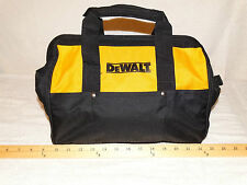 (2) Dewalt tool Bag with bottom runners12 x 9 x 9 With 6 pockets New