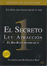 DVD - El Secreto De La Ley De La Atraccion NEW 1 Dr. Fred Alan FAST SHIPPING !