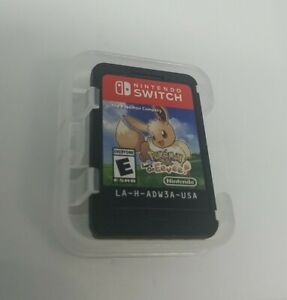 Pokemon: Lets Go Eevee! (Nintendo Switch, 2018) Game