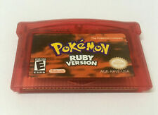 Pokemon Ruby Version For Gameboy Advance GBA SP DS DS-Lite
