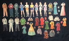 Original 6 Grown-Up Dolls Paper Dolls, Cut Merrill Set, 1941