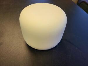 Google Nest WiFi Router H2D 2nd Gen 2.4GHz/5GHz GA00595-US (No Power Cord)