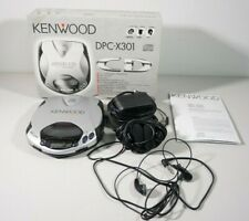 Kenwood DPC-X301 tragbarer CD Player mit 2x Kopfhörer , Anleitung und OVP