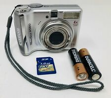 Canon PowerShot A560 Camera 7.1MP 4X Zoom - ( Tested )