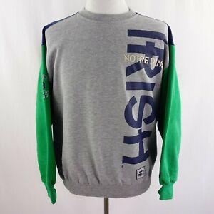 Notre Dame Fighting Irish Starter Sweatshirt Mens Sz M