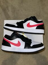 Jordan 1 Low Black Siren Red Size 9 Mens (10.5W) Brand New 100% Authentic!