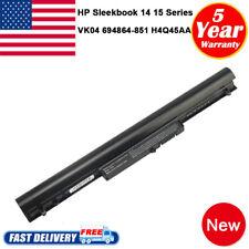 VK04 Battery for HP Pavilion Sleekbook 14 15 15z 695192-001 HSTNN-YB4D Notebook
