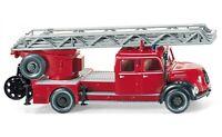 #086234 - Wiking Feuerwehr - Drehleiter (Magirus DL 25h) - 1:87