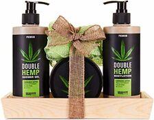 BRUBAKER Cosmetics - Coffret de bain - Soin Huile de chanvre - Menthe & Aloe ver