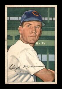 1952 Bowman Set Break # 78 Lloyd Merriman VG *OBGcards*