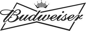 MEDIUM BUD DRINK BEER IMAGE VINYL STICKER,DECOR, FOR WALL,GARDEN BAR,MAN CAVE