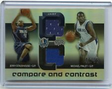 2005-06 REFLECTIONS #JASF STACKHOUSE FINLEY JACKSON ARTEST QUAD-JERSEY #47/50
