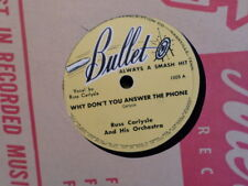 BULLET 78 RECORD 1005/RUSS CARLYSLE/WHY DON'T YOU ANSWER THE PHONE/IN THE CHAPEL