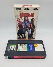 AIRHEADS Adam Sandler VHS Steve Buscemi, Brendan Fraser FORMER BLOCKBUSTER