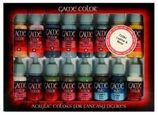 Vallejo Juego Color Conjunto de Cuero Y Metal (x16) # 72291