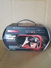 Tzumi Dream Vision Virtual Reality Smartphone Headset-RED-NEW