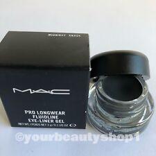 New MAC Pro Longwear Fluidline Eye Liner Gel MIDNIGHT SNACK 100% Authentic