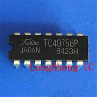 10PCS TC4075BP Encapsulation:DIP NEW