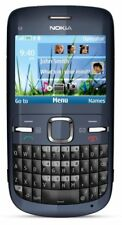 NOKIA C3-00 CELL PHONE ROGERS & CHATR GSM QWERTY SMARTPHONE BLUETOOTH CAMERA MP4