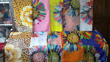 Joblot 20 pcs Flower Design chiffon scarves scarf wholesale 50x160 cm Lot 5