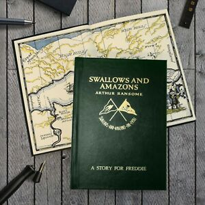 Personalised Arthur Ransome Swallows and Amazons Book - Birthday Gift for her