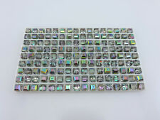 SWAROVSKI® Crystal Cubes,Art.#5601 6mm,Twenty(20) VITRAIL LIGHT 6mm Square Beads