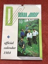More details for duran duran 1984 official calendar free p&p