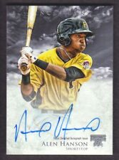 2013 Bowman Inception Prospect Autograph #AH Alen Hanson Auto Pittsburgh Pirates