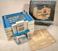 VINTAGE PLASTICVILLE HOSPITAL KIT O SCALE MODEL RAILROADING