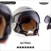 JET VESPA RETRO SCOOTER OPEN FACE Motorcycle ECE MOTO Helmet H44 M.W XS S M L XL