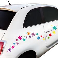 """Wandkings Auto Sticker """"Blumen Design 2""""  2x A4 Set Aufkleber Deko für Auto!"""