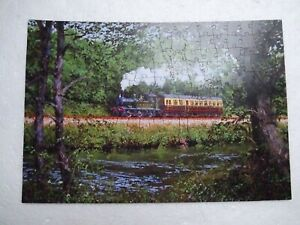 Wentworth Wooden Jigsaw Puzzle - Along the Dart - 250 with Whimsy Pieces