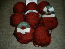 Cynthia Helene MERINO yarn Russet #172 Lot of 8 skeins