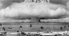 Atom Bomb Explosion Bikini Atoll test from 35mm positive Film 11 x 17 Photograph