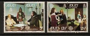 JERSEY SG226/9 1980 EUROPA MNH