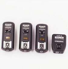 RF-602 Wireless Remote Flash Trigger for Nikon DSLR 1 Transmitter & 3 Receiver