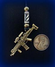 Rifle Weapon Gun Jewelry PENDANT NECKLACE- UNIQUE! Steampunk! Detailed! UNIQUE!