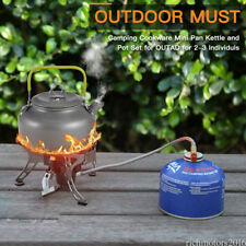 Outdoor Camping Cooking Cookware Set Kit Picnic Portable 2-3 Person wz03