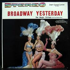 Magic Strings Golden Brass - Broadway Yesterday LP Mint- MS-16012 Stereo Rare
