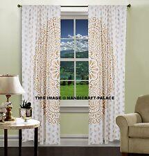 Indische Blumen Tüll Fenster Schal Valance Mandala Vorhang Balkon Abdeckt Boho
