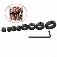 3-16 mm Drill Bit Shaft Depth Stop Collars Ring Set Drill Lo Tools Woodwork W8D8