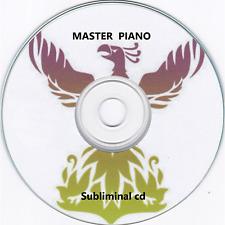 MASTER PIANO - Improve Piano Playing Skill Music SUBLIMINAL HYPNOSIS CD